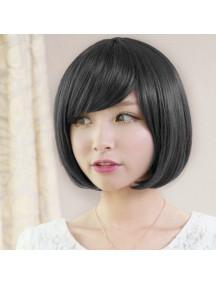 HO5024A - Wig / Rambut Palsu Pendek Hitam