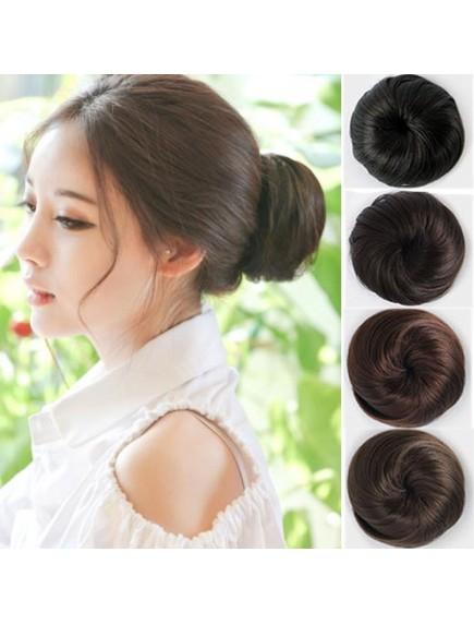 HO5035W - Hair Clip Bun Extension