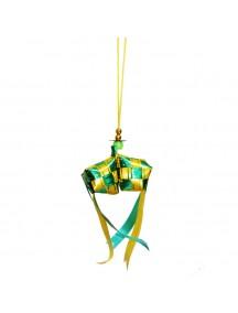 HO5102W - Ornament/Hiasan Ketupat Idul Fitri