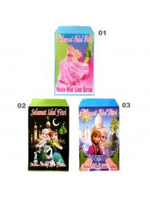 HO5108 - Amplop Idul Fitri Disney Princess isi 10 pc