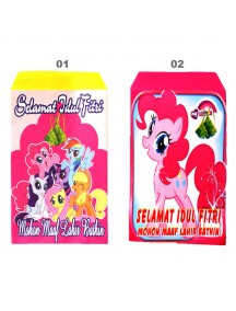 HO5110 - Amplop Idul Fitri Little Pony isi 10 pc