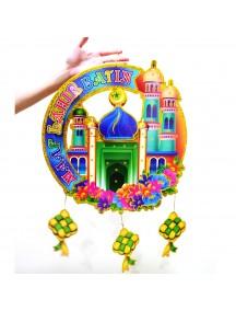 HO5115 - Hiasan Gantung Lebaran Idul Fitri