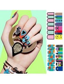 HO5118 - Nail Sticker Kuku Decals Fashion