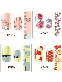 HO5119 - Nail Sticker Kuku Decals Fashion