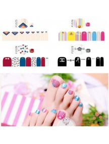 HO5128 - Toe Nail Sticker Kuku Kaki
