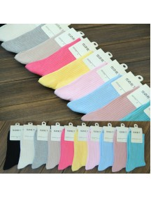 HO5131W - Kaos Kaki Fashion Simple
