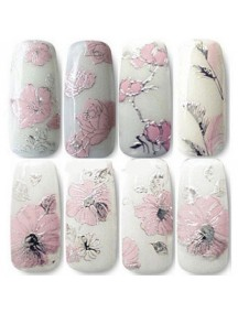 HO5139BW - Nail Sticker 3D