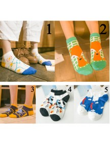 HO5142W - Kaos Kaki Fashion Cartoon