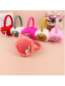 HO5168W - Earmuffs / Penutup Telinga Fashion Cherry