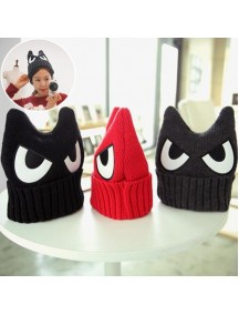 HO5197W - Topi Wool Fashion Angry Eye