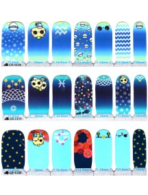HO5200 -  Nail Sticker Glitter Cartoon Cat