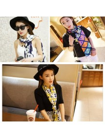 HO5204W - Fashion Scarf Retro Seri 1