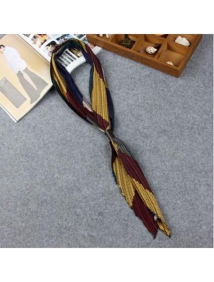 HO5206W - Fashion Scarf Korea With Leather Buckle