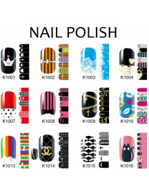 HO5207W - Nail Sticker Fashion