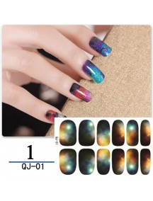 HO5208W - Nail Sticker Fashion