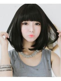 HO5220 - Hair Wig/ Rambut Palsu Pendek Hitam