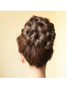 HO5222W - Curly Hair Bun