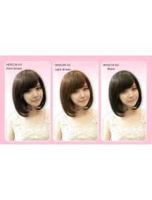 HO5224W - Wig Rambut  Palsu Panjang Sedang