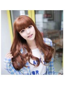 HO5229 - Hair Wig Rambut Palsu Panjang (Light Brown)