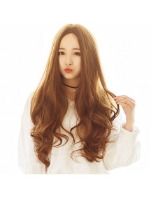 HO5233 - Hair Wig Rambut Palsu Panjang (Light Brown)