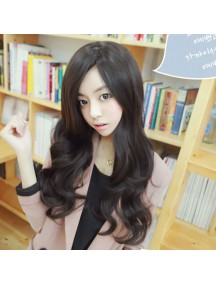 HO5235 - Hair Wig Rambut Palsu Panjang Curly Natural Hitam