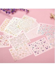 HO5251 - Nail Stickers Mix 50pc
