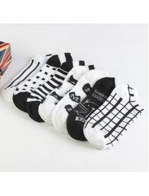 HO5335W - Kaos Kaki Fashion Motif