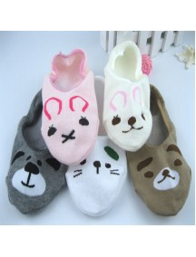 HO5339W - Kaos Kaki Cartoon Cute