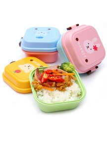 HO1534W - Kotak Makan Double Lunch Box Cartoon