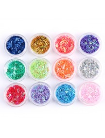 HO1559 - Nail Art DIY Sequin Hiasan Kuku Love Set