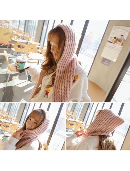 HO2539W - Syal Hat Wool Korean Fashion