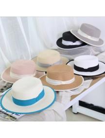 HO2533W - Topi Pantai Premium High Quality Korean Sweet Hat
