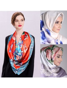 HO2537W - Scarf Silk Big Square Elegance