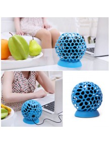 HO2555 - Mini Fan Kipas USB Ball (Biru)