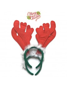 HO2593 - Bando Natal Rusa Snow Fur Santa Christmas