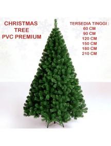 HO3331 - Pohon Natal Christmas Tree PVC Premium (Tinggi 60cm)