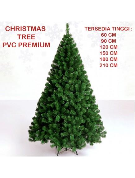 HO3328 - Pohon Natal Christmas Tree PVC Premium (Tinggi 150cm)