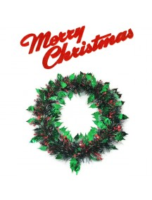 HO3333 - Christmas Decoration Wreath Natal Krans Daun