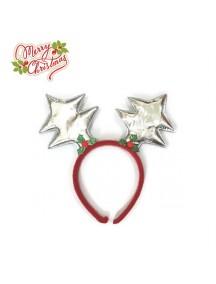 HO3334 - Bando Natal Silver Rusa Christmas