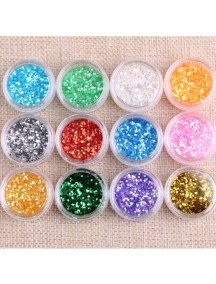 HO2461 - Nail Art DIY Sequin Hiasan Kuku Set