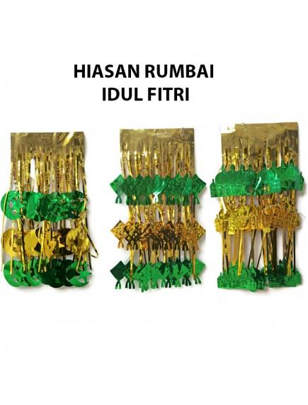 HO2473W - Banner Hiasan Rumbai Ornament/Hiasan Idul Fitri