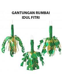 HO2474W - Gantungan Hiasan Rumbai Ornament/Hiasan Idul Fitri