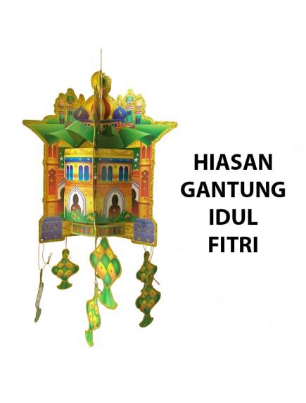 HO2475 - Hiasan Gantung Lebaran Idul Fitri