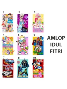 HO2480W - Amplop/ Angpao Idul Fitri isi 10 pc (Small Pon)