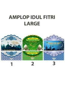 HO2481W - Amplop/ Angpao Idul Fitri isi 10 pc (Large)