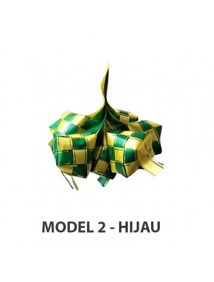 HO2484W - Ornament/Hiasan Ketupat Idul Fitri (Large)