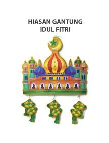 HO2488 - Ornament/Hiasan Gantung 3D Idul Fitri