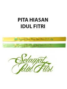 HO2497W - Ornament/Hiasan Pita Bingkisan Idul Fitri
