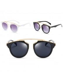HO2512W - Kacamata Fashion Retro Sunglasses