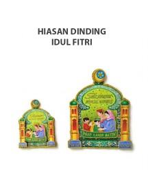 HO5112B - Hiasan Tempel Dinding Lebaran Idul Fitri 3D (Medium)